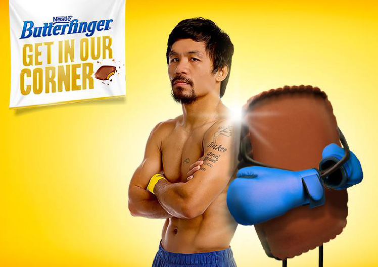 Butterfinger Manny Pacquiao Campaign
